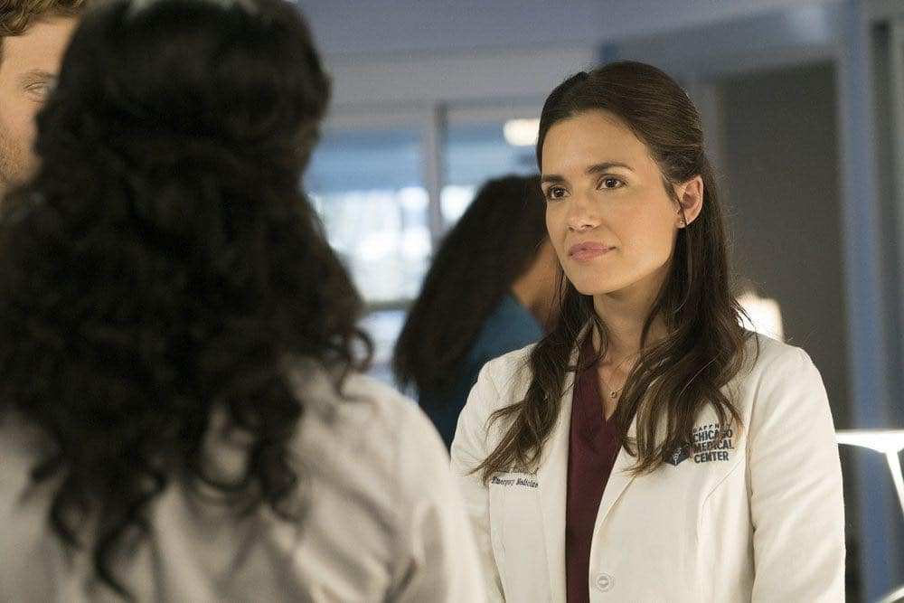 """CHICAGO MED -- """"Brother's Keeper"""" Episode 204 -- Pictured: Torrey DeVitto as Natalie Manning -- (Photo by: Elizabeth Sisson/NBC)"""