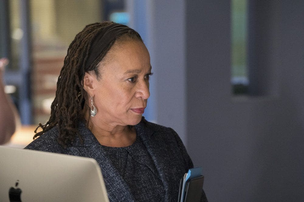 """CHICAGO MED -- """"Brother's Keeper"""" Episode 204 -- Pictured: S. Epatha Merkerson as Sharon Goodwin -- (Photo by: Elizabeth Sisson/NBC)"""