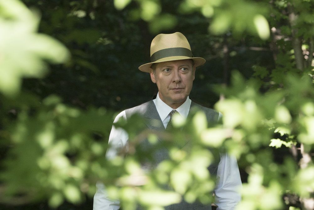 "THE BLACKLIST -- ""Mato #66"" Episode 402 -- Pictured: James Spader as Raymond ""Red"" Reddington -- (Photo by: Virginia Sherwood/NBC)"