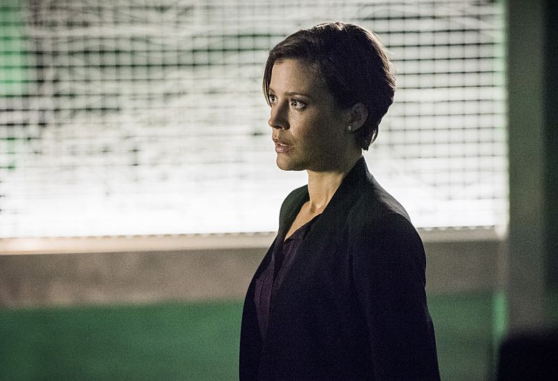 """Arrow -- """"Penance"""" -- Image AR504b_0336b.jpg --- Pictured: Audrey Marie Anderson as Lyla Michaels -- Photo: Dean Buscher/The CW -- © 2016 The CW Network, LLC. All Rights Reserved."""