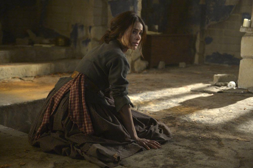 "TIMELESS -- ""The Alamo"" Episode 104 -- Pictured: Abigail Spencer as Lucy Preston -- (Photo by: Sergei Bachlakov/NBC)"