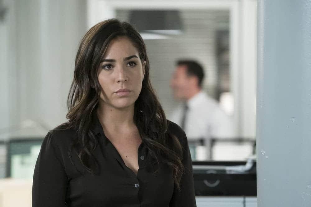 "BLINDSPOT -- ""Resolves Eleven Myths"" Episode 207 -- Pictured: Audrey Esparza as Tasha Zapata -- (Photo by: Virginia Sherwood/NBC)"