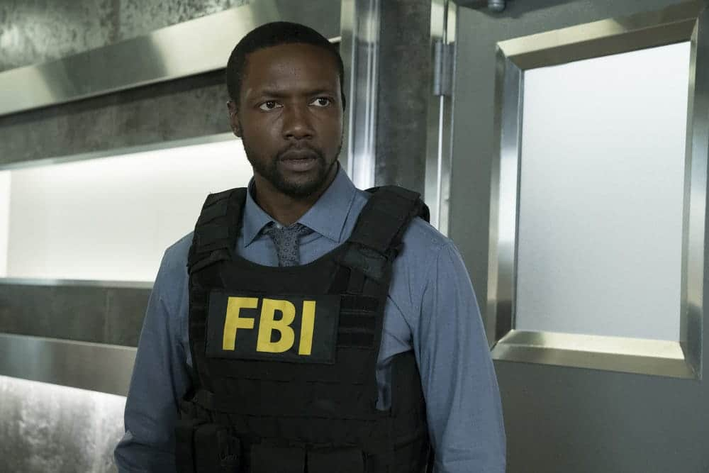 """BLINDSPOT -- """"Resolves Eleven Myths"""" Episode 207 -- Pictured: Rob Brown as Edgar Reade -- (Photo by: Virginia Sherwood/NBC)"""