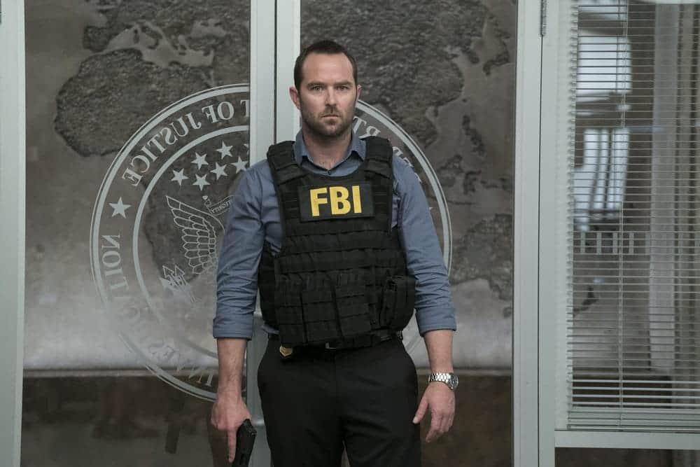 "BLINDSPOT -- ""Resolves Eleven Myths"" Episode 207 -- Pictured: Sullivan Stapleton as Kurt Weller -- (Photo by: Virginia Sherwood/NBC)"