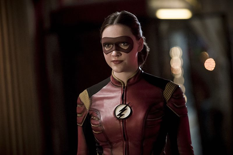 "The Flash -- ""The New Rouges"" -- Image FLA304b_0242b.jpg -- Pictured: Violett Beane as Jesse Quick -- Photo: Katie Yu/The CW -- © 2016 The CW Network, LLC. All rights reserved."