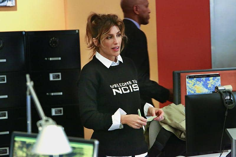 """Shell Game"" -- After a kidnapped petty officer escapes her captor, NCIS uncovers a connection to her missing husband. Also, Abby knits the NCIS newbies personalized gifts, on NCIS, Tuesday, Oct. 25 (8:00-9:00 PM, ET/PT), on the CBS Television Network. Pictured: Jennifer Esposito. Photo: Bill Inoshita/CBS ©2016 CBS Broadcasting, Inc. All Rights Reserved"