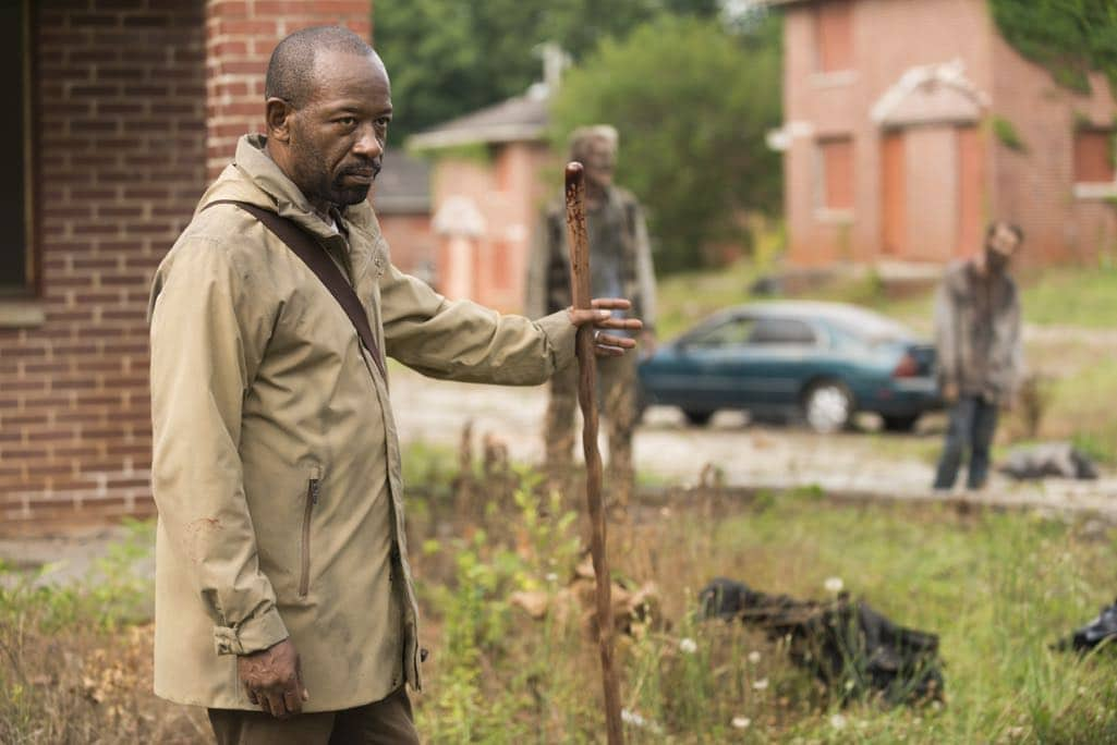 Lennie James as Morgan Jones - The Walking Dead _ Season 7, Episode 3 - Photo Credit: Gene Page/AMC