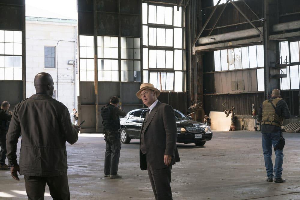 "THE BLACKLIST -- ""The Lindquist Concern #105"" Episode 405 -- Pictured: (l-r) Hisham Tawfiq as Dembe Zuma, James Spader as Raymond ""Red"" Reddington -- (Photo by: Barbara Nitke/NBC)"