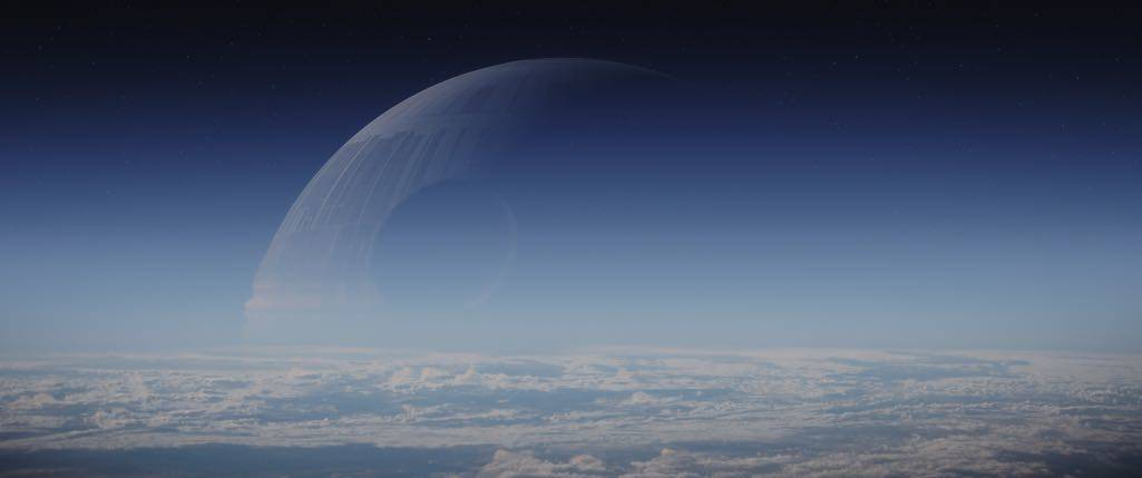 Rogue One: A Star Wars Story Death Star Photo credit: Lucasfilm/ILM ©2016 Lucasfilm Ltd. All Rights Reserved.
