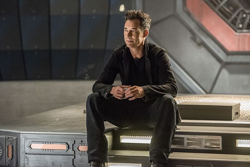 """The Flash -- """"Magenta"""" -- Image: FLA303a_0328b.jpg -- Pictured: Tom Cavanagh as Harrison Wells -- Photo: Dean Buscher/The CW -- © 2016 The CW Network, LLC. All rights reserved."""