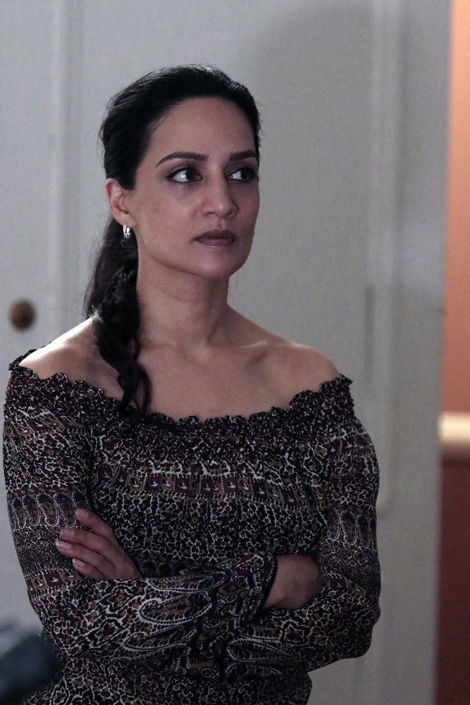 "BLINDSPOT-- ""Her Spy's Mind"" Episode 206 -- Pictured: Archie Panjabi as Nas Kamal -- (Photo by: Giovanni Ruffino/NBC)"