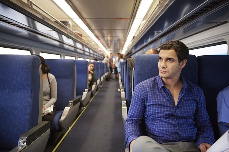 """""""Little Boy Lost"""" -- Team Scorpion must find a boy from Ralph's class who goes missing on a field trip after he accidentally has a run-in with a deadly criminal. Also, Toby gets closer to finding out the identity of Happy's husband, on SCORPION, Monday, Oct. 17 (10:00-11:00 PM, ET/PT), on the CBS Television Network. Pictured: Elyes Gabel. Photo: Erik Voake/CBS ©2016 CBS Broadcasting, Inc. All Rights Reserved"""