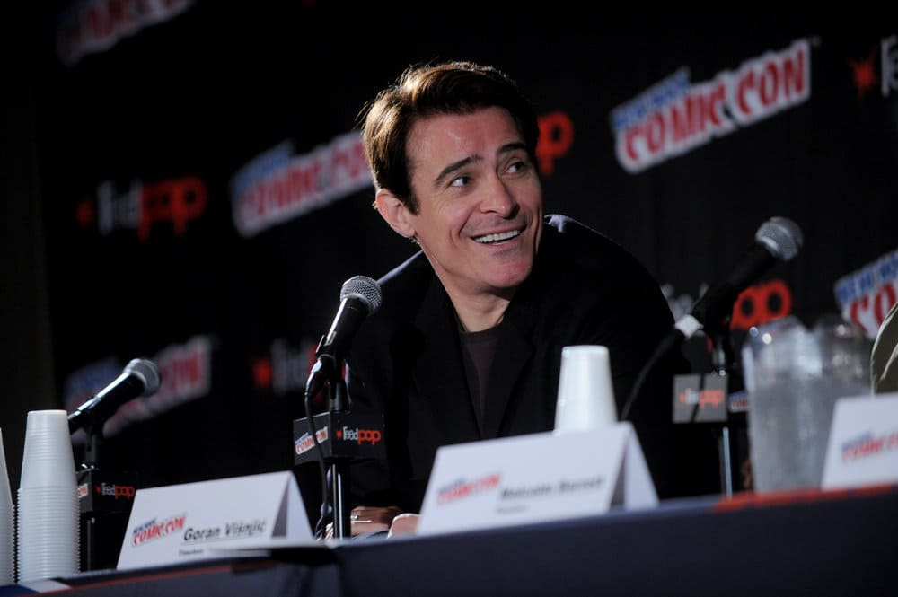 "NEW YORK COMIC CON 2016 -- ""Timeless"" Panel -- Pictured: Goran Visnjic on Sunday, October 9, 2016 from the Javits Center in New York, NY -- (Photo by: Brad Barket/NBC)"