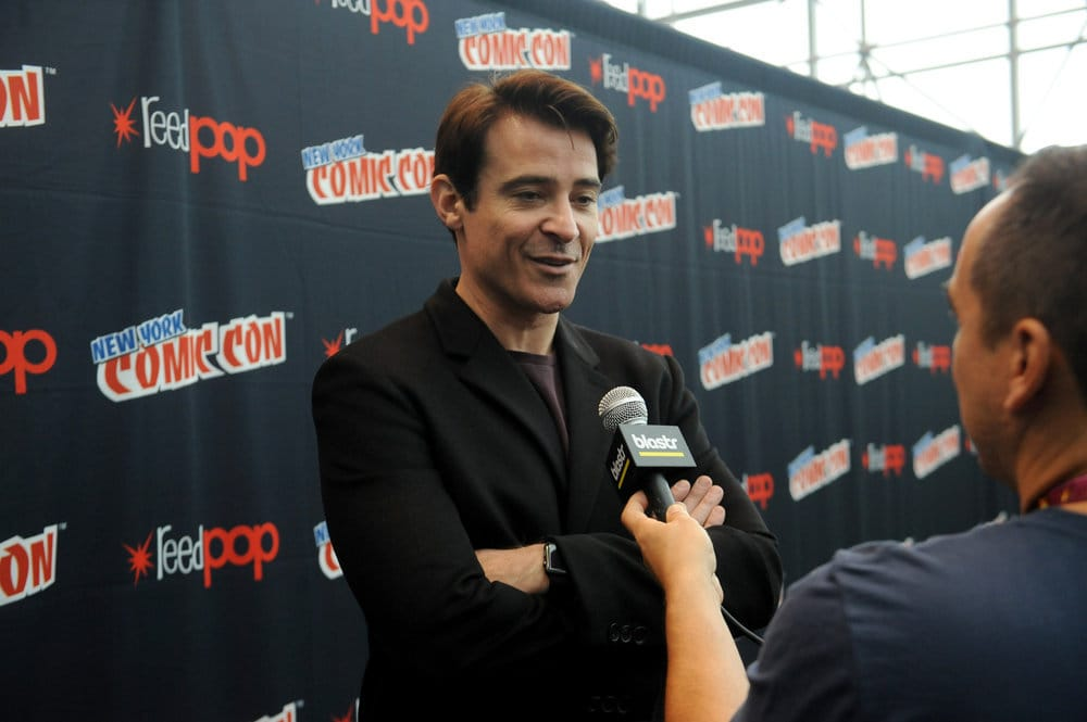 "NEW YORK COMIC CON 2016 -- ""Timeless"" Press Room -- Pictured: Goran Visnjic on Sunday, October 9, 2016 from the Javits Center in New York, NY -- (Photo by: Brad Barket/NBC)"