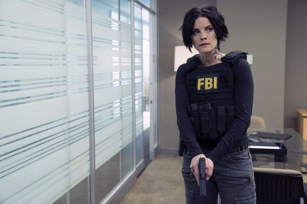 """BLINDSPOT-- """"Condone Untidiest Thefts"""" Episode 205 -- Pictured: Jaimie Alexander as Jane Doe -- (Photo by: Peter Kramer/NBC)"""