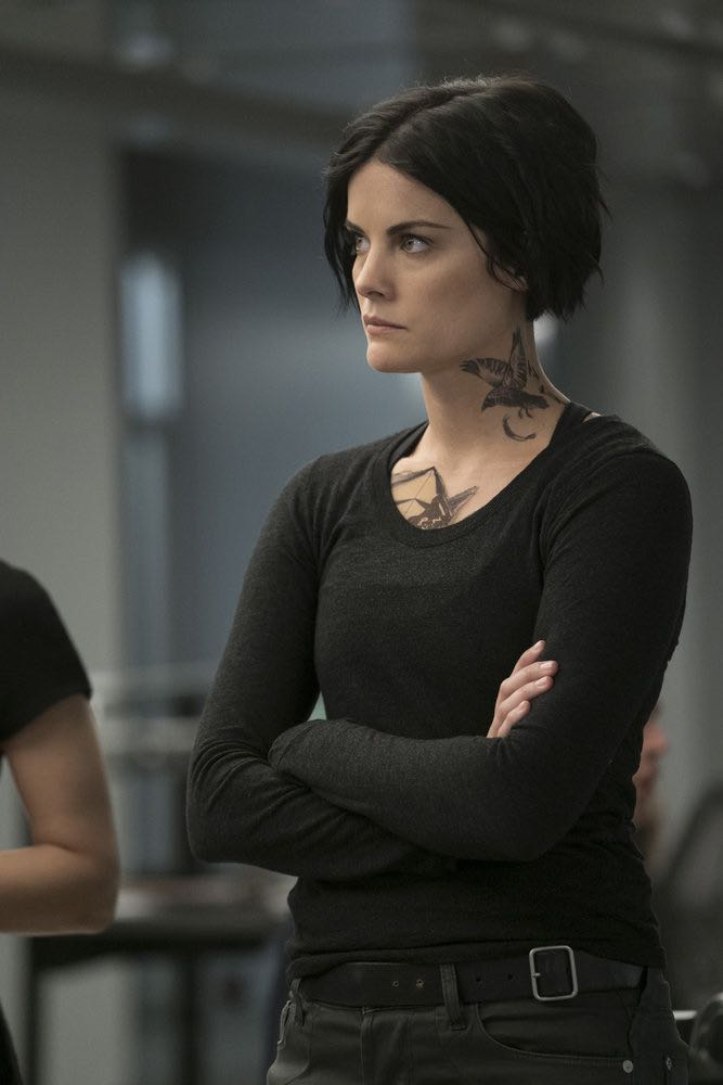 """BLINDSPOT -- """"Condone Untidiest Thefts"""" Episode 205 -- Pictured: Jaimie Alexander as Jane Doe -- (Photo by: Peter Kramer/NBC)"""