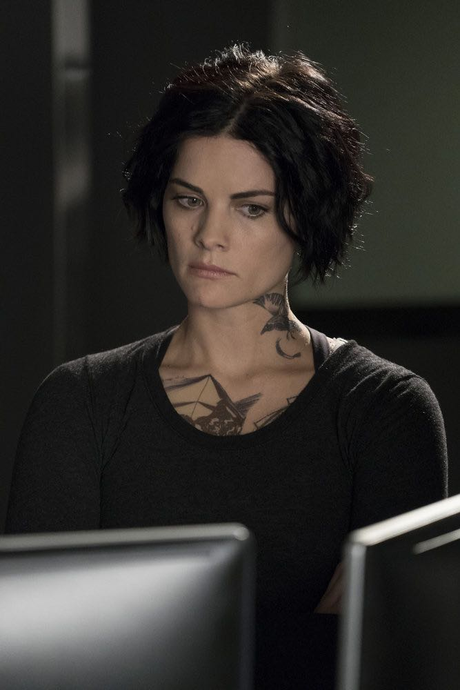 "BLINDSPOT -- ""Condone Untidiest Thefts"" Episode 205 -- Pictured: Jaimie Alexander as Jane Doe -- (Photo by: Peter Kramer/NBC)"