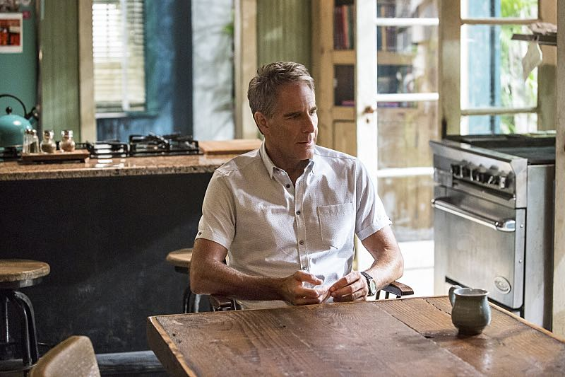 """Escape Plan"" -- The NCIS team must rescue one of their own after Sebastian is kidnapped while at a restaurant with his mother, Sylvia Lund, and forced to use his gaming skills in a prison break, on NCIS: New Orleans, Tuesday, Oct. 18 (10:00-11:00, ET/PT), on the CBS Television Network. Pictured: Scott Bakula as Special Agent Dwayne Pride Photo: Skip Bolen/CBS ©2016 CBS Broadcasting, Inc. All Rights Reserved"