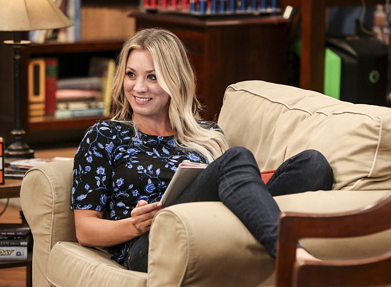 """""""The Property Division Collision"""" -- Pictured: Penny (Kaley Cuoco). Sheldon and Leonard try to divvy up their shared belongings, but can't agree on anything. Also, Koothrappali and Stuart fight to be the most helpful during Bernadette's final weeks of pregnancy, on THE BIG BANG THEORY, Thursday, Dec. 1 (8:00-8:31 PM, ET/PT), on the CBS Television Network. Christopher Lloyd guest stars as Theodore. Photo: Michael Yarish/Warner Bros. Entertainment Inc. © 2016 WBEI. All rights reserved."""