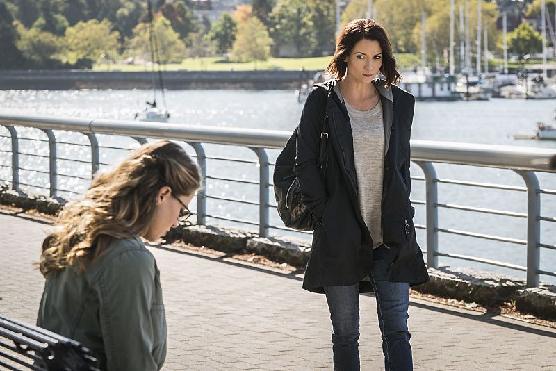 """Supergirl -- """"Changing"""" -- Image SPG206a_0012 -- Pictured (L-R): Melissa Benoist as Kara and Chyler Leigh as Alex Danvers -- Photo: Liane Hentscher/The CW -- © 2016 The CW Network, LLC. All Rights Reserved"""