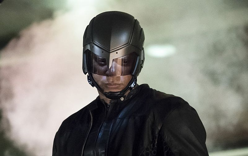 """Arrow -- """"So It Begins"""" -- Image AR506b_0080b.jpg -- Pictured: David Ramsey as John Diggle/Spartan -- Photo: Katie Yu/The CW -- © 2016 The CW Network, LLC. All Rights Reserved."""