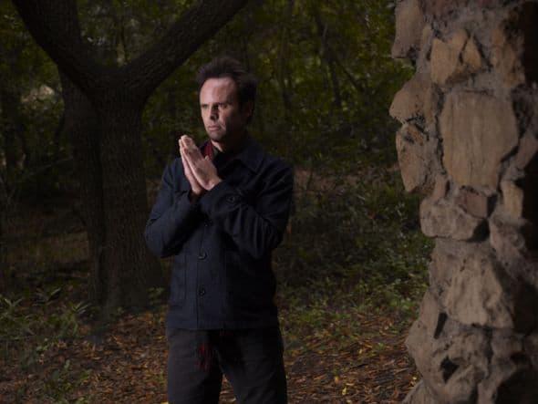 JUSTIFIED: Walton Goggins as Boyd Crowder. CR: Mark Seliger/ FX