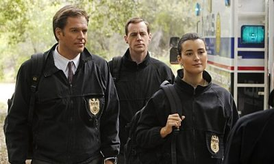 """""""Swan Song"""" -- After new evidence reveals that the Port-to-Port killer has infiltrated the agency, the NCIS teams chase every lead in a race to track him down, on NCIS, Tuesday, May 10 (8:00-9:00 PM, ET/PT) on the CBS Television Network. Pictured left to right: Michael Weatherly, Sean Murray and Cote de Pablo Photo: Monty Brinton/CBS ©2011 CBS Broadcasting Inc. All Right Reserved."""