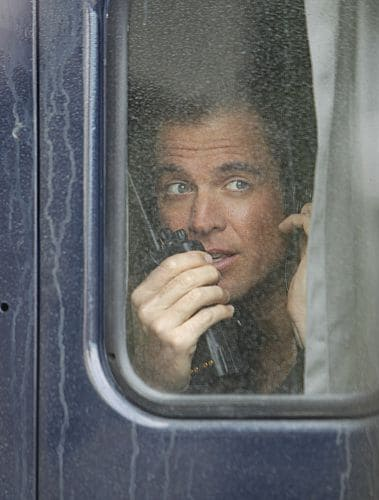 """""""Baltimore"""" - After Tony's (Michael Weatherly, pictured) ex-partner, Danny Price, appears to be the Port-to-Port Killer's latest victim, he revisits his days as a detective in Baltimore, including his first encounter with Gibbs, on NCIS, Tuesday, May 3 (8:00-9:00 PM, ET/PT) on the CBS Television Network. Photo: Monty Brinton/CBS ©2011 CBS Broadcasting Inc. All Rights Reserved"""
