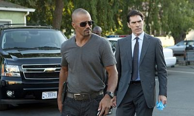 """From Childhood's Hour"" -- Morgan (Shemar Moore, left) and Hotch (Thomas Gibson, right) investigate abductions of young children in St. Louis whose one commonality is that they have troubled mothers, on CRIMINAL MINDS, Wednesday, Oct. 19 (9:00-10:00 PM, ET/PT) on the CBS Television Network. #CriminalMinds Photo: MONTY BRINTON/CBS ©2011 CBS BROADCASTING INC. All Rights Reserved."