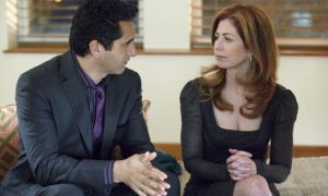 "BODY OF PROOF - ""Hard Knocks"" - When 17-year-old overachiever Trent Brady is found dead after calling 911 outside of a rave, Megan and her team are called in to investigate. The teenager's parents seem to be in denial about their son's access to drugs, but Megan will need help in determining the drugs found on the teen's body, and turns to her new friend, Special Agent Ames (Cliff Curtis) for help. Meanwhile Megan's ex-husband, Todd (Jeffrey Nordling), has major news which will affect Megan's future with their daughter, on ""Body of Proof,"" TUESDAY, NOVEMBER 1 (10:01-11:00 p.m., ET) on the ABC Television Network. (ABC/CLAIRE FOLGER) CLIFF CURTIS, DANA DELANY"