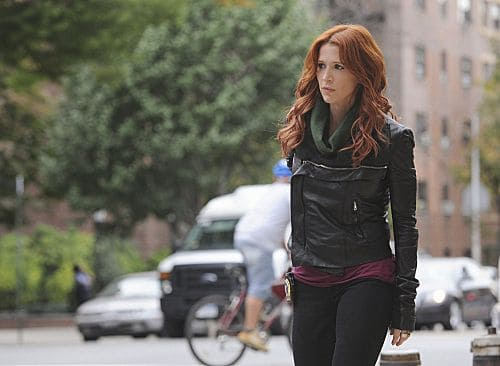 """Lost Things"" -- Carrie (Poppy Montgomery) investigates the death of a public defender, only to discover that the killer has a larger plan which may lead to a second murder, on UNFORGETTABLE, Tuesday, Nov 8(10:00 – 11:00 PM ET/PT) on the CBS Television Network Photo: Heather Wines/CBS ©2011 CBS Broadcasting, Inc. All Rights Reserved #Unforgettable"
