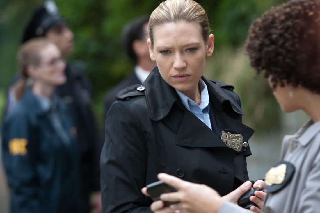 "FRINGE: Olivia (Anna Torv, L) and Astrid (Jasika Nicole, R) receive a message in the ""And Those We've Left Behind"" episode of Fringe airing Friday, Nov. 11 (9:00-10:00 PM ET/PT) on FOX. ©2011 Fox Broadcasting Co. CR: Liane Hentscher/FOX"