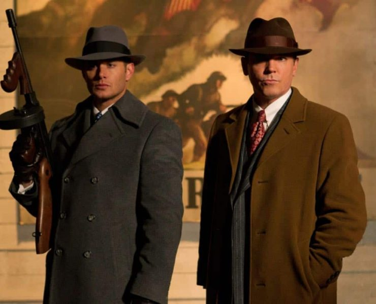 """""""Time After Time"""" - (l-r): Jensen Ackles as Dean, Nicholas Lea as Elliot Ness in SUPERNATURAL on The CW. Photo: Jack Rowand/The CW©2012 The CW Network, LLC. All Rights Reserved."""
