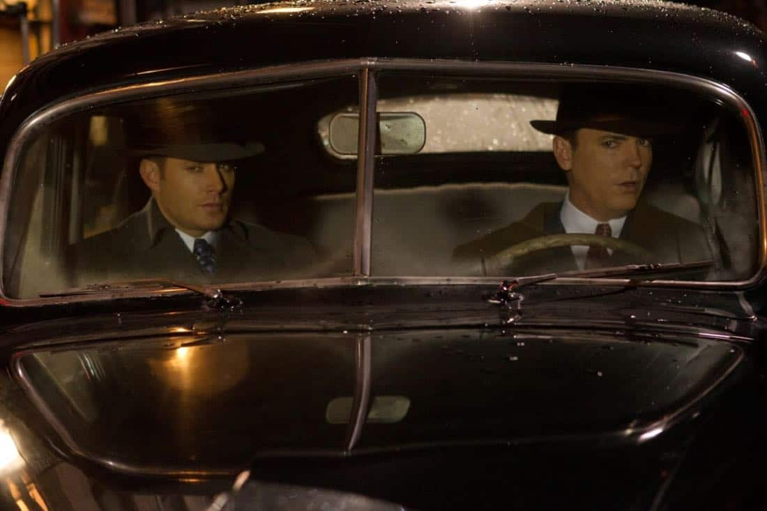 """Time After Time"" - (l-r): Jensen Ackles as Dean, Nicholas Lea as Elliot Ness in SUPERNATURAL on The CW. Photo: Jack Rowand/The CW©2012 The CW Network, LLC. All Rights Reserved."