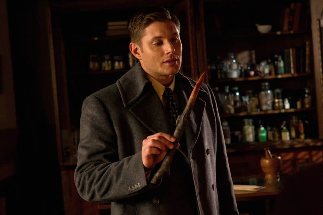 """Time After Time"" - Jensen Ackles as Dean in SUPERNATURAL on The CW. Photo: Jack Rowand/The CW©2012 The CW Network, LLC. All Rights Reserved."