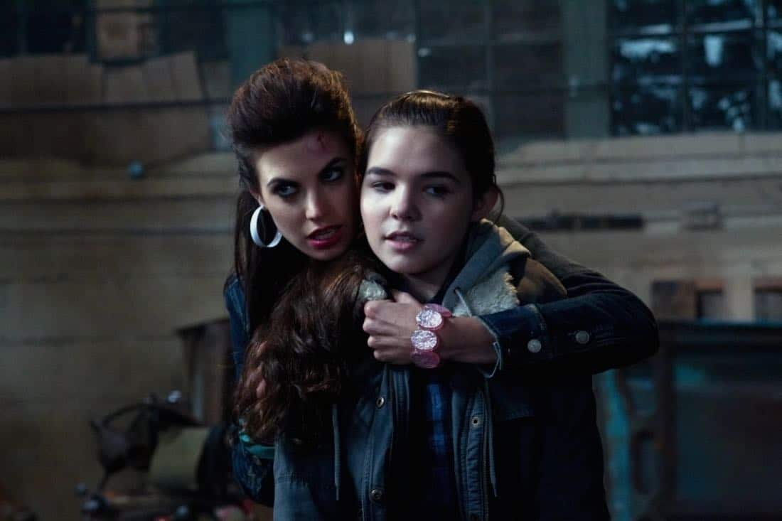 """Adventures in Babysitting"" - (l-r): Meghan Ory as Sally, Madison Mclaughlin as Krissy in SUPERNATURAL on The CW. Photo: Jack Rowand/The CW©2011 The CW Network, LLC. All Rights Reserved."