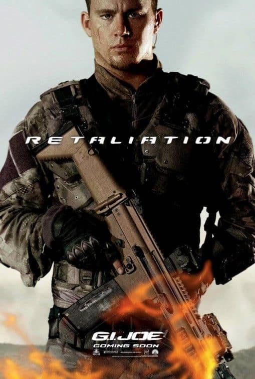 G.I. JOE RETALIATION Channing Tatum : Duke