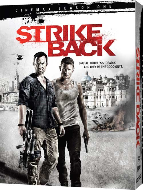 Strike Back Season 1 DVD