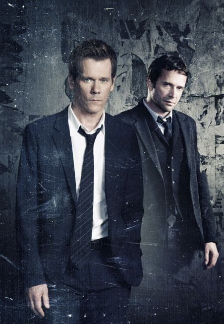Kevin Bacon James Purefoy The Following