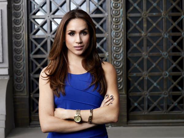 SUITS -- Season: 2 -- Pictured: Meghan Markle as Rachel Zane -- Photo by: Robert Ascroft/USA Network