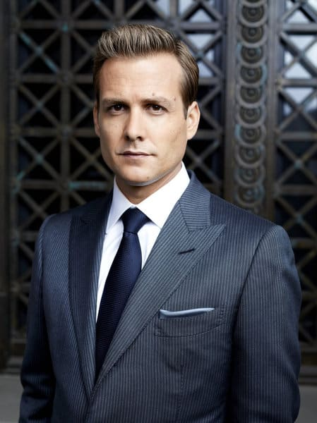SUITS -- Season: 2 -- Pictured: Gabriel Macht as Harvey Specter -- Photo by: Robert Ascroft/USA Network