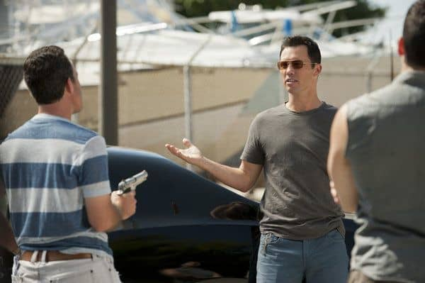 BURN NOTICE -- Episode 605 -- Pictured: Jeffrey Donovan as Michael Westen -- (Photo by Glenn Watson/USA Network)