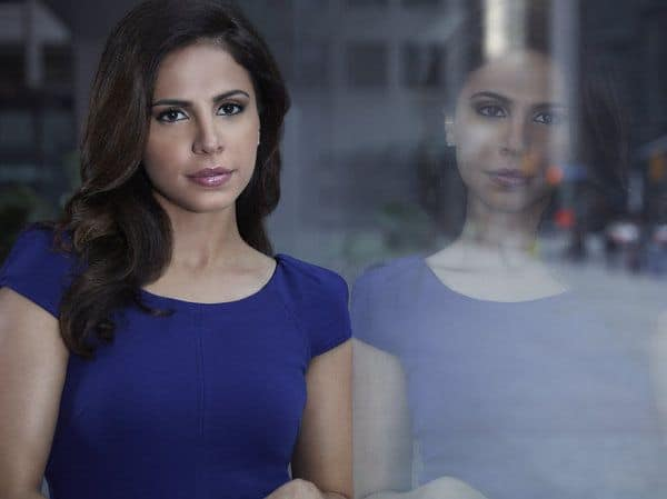 ALPHAS -- Season: 2 -- Pictured: Azita Ghanizada as Rachel Pirzad -- (Photo by: Frank Ockenfels/Syfy)