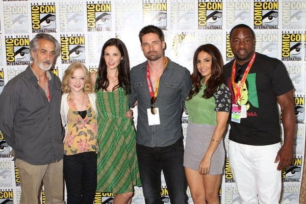 Alphas Cast Comic Con Syfy