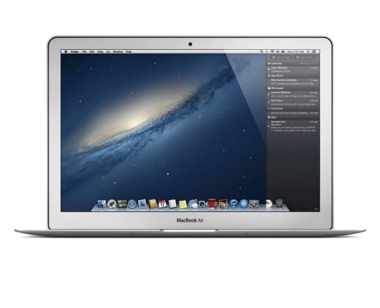 OS X Mountain Lion Apple Macbook Air