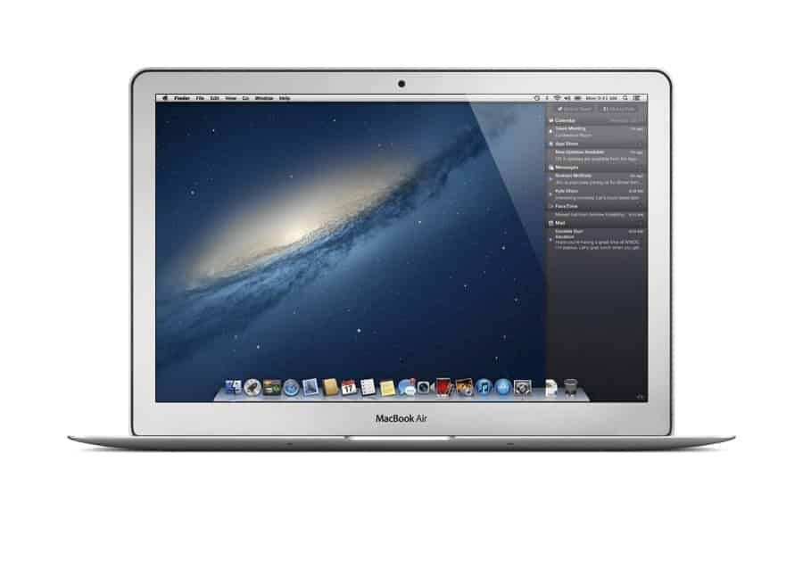 OS X Mountain Lion Apple Macbook Air