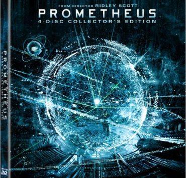 Prometheus Bluray 3D DVD