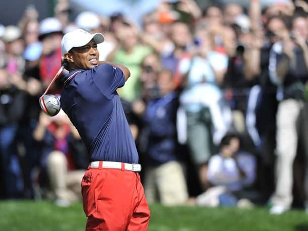 Ryder Cup 2012 Tiger Woods