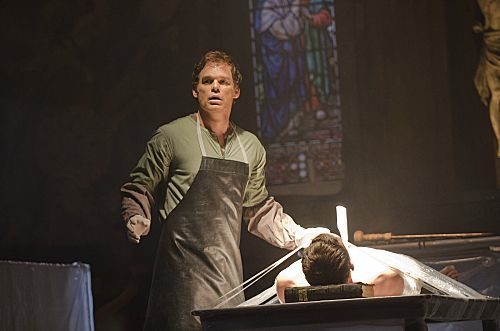 Michael C. Hall as Dexter Morgan (Season 7, episode 1) - Photo: Randy Tepper/Showtime - Photo ID: dexter_701_0072