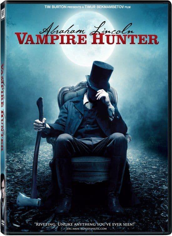 ABRAHAM LINCOLN VAMPIRE HUNTER DVD